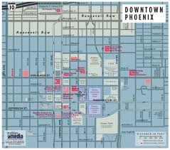 Valley Metro Map by Downtown Phoenix Once An Afterthought Now A Residential Hotspot
