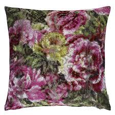 designers guild kissen forsyth magenta cushion designers guild