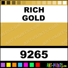 mustard color code rich gold aquacote metallic metal and metallic paints 9265 rich