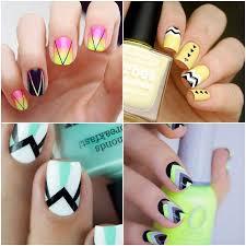figuras geometricas uñas arte de uñas geométrico consejos y trucos para diseños de uñas de