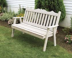 cedar bench amish furniture handcrafted garden bench