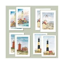 watercolor notecards lighthouse notecards boxed set new