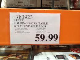 Keter Folding Bench Don U0027t Like Sawhorses Keter Work Tables