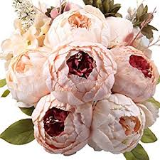flowers bouquet leagel flowers vintage artificial peony silk