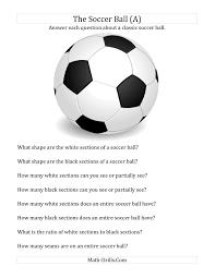 world cup math the soccer ball