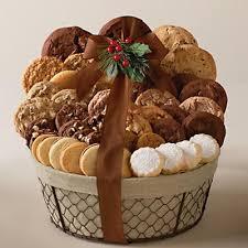 cookie basket harry david cookie basket via johnson she wears many hats