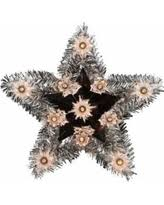 big deal on 12 u0027 lighted white moravian star christmas tree topper