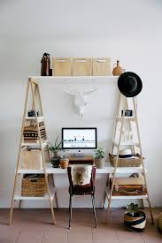 Desk Ideas For Small Spaces Best 25 Ladder Desk Ideas On Pinterest Desk Ideas Bedroom