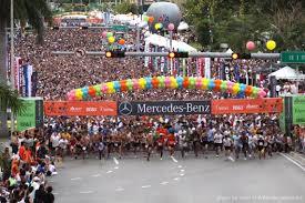 mercedes corporate mercedes corporate run sets participation marks miami s