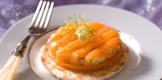 cuisiner saumon fumé saumon fumé à la compotée de fenouil facile recette sur cuisine