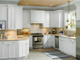cabinet doors white and cream kitchen cabinet refacing with