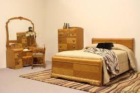 full size bedroom set for boys wooden varnish glass windows wooden