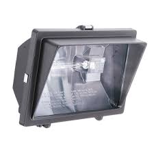 exterior spot light fixture n 1 lamp white outdoor flood light ofl 300 500q 120 lp wh m6 the