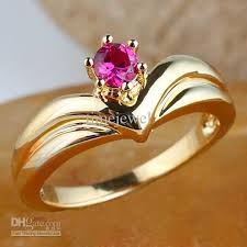 ruby rings price images 2018 women crown shape round red ruby ring r111 gfl size 6 7 8 jpg
