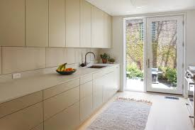wood grain kitchen cabinet doors minimal kitchen maximum storage modern home in toronto