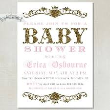 pink and gold baby shower invitations 8744 in addition to pink and
