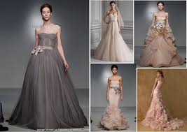 color wedding dresses wedding gowns color vosoi