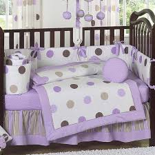 Purple Bedding For Cribs Purple Crib Bedding Sets For Baby All Modern Home Designs