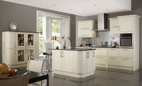 Painted Off White Kitchen Cabinets Kitchen Comely White Kitchen Cabinets With Grey Glaze Beautify