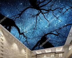 star space starry night rotation sky 3d custom wallpaper mural custom ceiling wallpaper beautiful night sky for living room ktv restaurant children room background