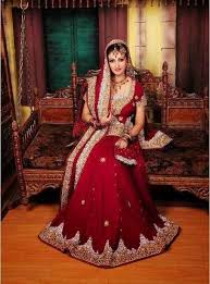 Red Bridal Dress Makeup For Brides Pakifashionpakifashion Wedding Dresses Designs For Pakistani Women Pakifashionpakifashion