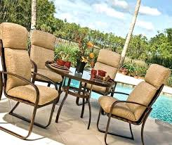 Patio Chairs With Cushions Outdoor Furniture Seat Cushions Aussiepaydayloansfor Me