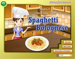 girlsgogames cuisine http girlsgogames com saras cooking class spaghetti