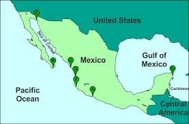 map of mexico resorts resort location map