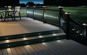 solar deck string lights fence post solar lights solar lighting for deck post deck string