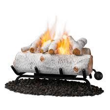 artificial gas fireplace logs home design inspirations
