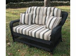 Wicker Style Outdoor Furniture by Wicker Furniture U0026 Lloyd Flanders Replacement Cushions For Sale