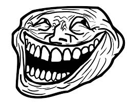 Troll Meme Face - face script