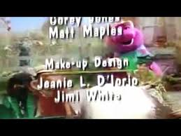 Credits To Barney And The by Download Youtube Mp3 More Barney Songs End Credits