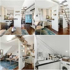 40 Square Meters To Feet Home Design Beautiful Attic Apartment Home Interior Design