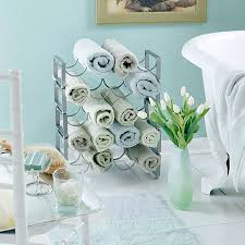 bathroom towel racks ideas bathroom towel storage 12 creative inexpensive ideas