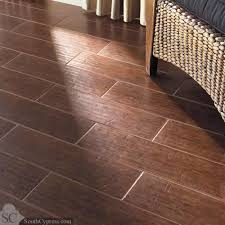 colonial wood mahogany featured on the scraped wood look tile