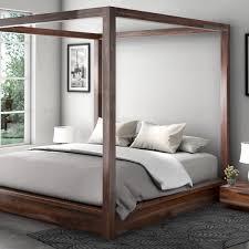 Modern Canopy Bed Frame Modern Canopy Bed 1 Platform Bed Frame With Metal Legs Modern