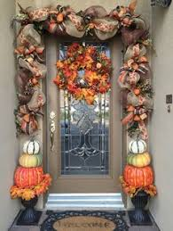 fall garland decorate your front door with this 10 1 2 custom fall garland and