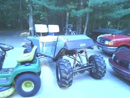 3 linked ezgo marathon extreme lifted golf carts pinterest