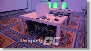 table rentals dc uniquely dc furniture rentals for stages and events in washington