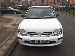nissan micra gumtree manchester nissan micra 1 3 gx automatic 1998 white in northolt london