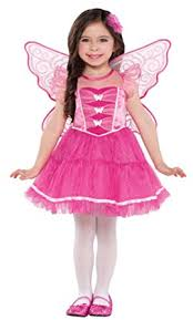 Pink Butterfly Halloween Costume Amazon Children U0027s Butterfly Kisses Costume Size Toddler 3 4