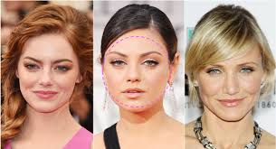 haircut for ling face with high cheek bones how to style your brows to flatter your face shape