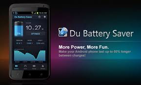 battery app for android extend the battery with du battery saver android app