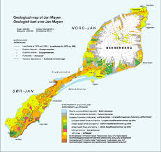 Map Og The Geology Of Jan Mayen Norwegian Polar Institute