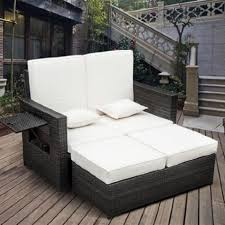 all weather wicker daybed diy outdoor daybed designer patio