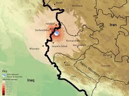 map iran iraq iran iraq earthquake understanding both the causes and remedies