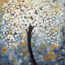 abstract trees painting by jolina anthony