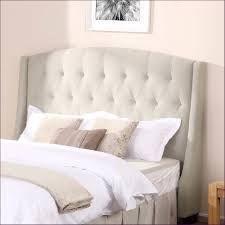 bedroom fabulous wall mounted tufted headboard fabric headboard