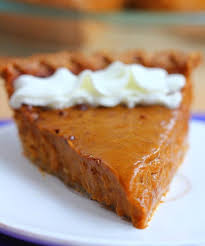 healthy sweet potato pie with pie crust